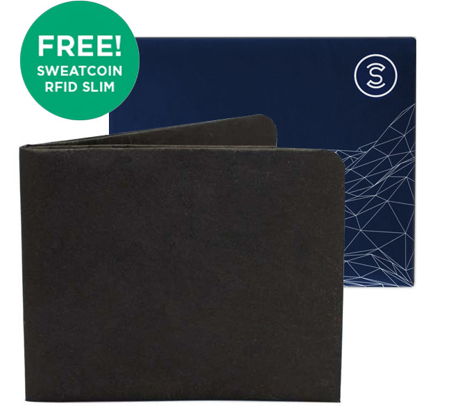Black + Sweatcoin RFID Wallet