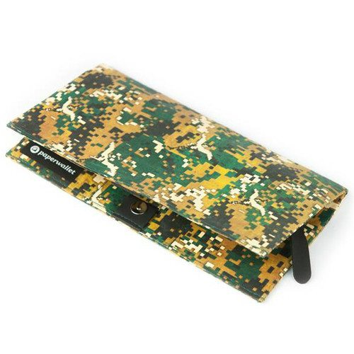 Clutch - 'Peace Camo' Tyvek Clutch Wallet