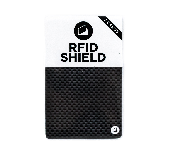 RFID Shield for RFID blocking wallet protection