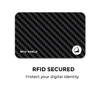 Black Micro + Sweatcoin RFID Wallet