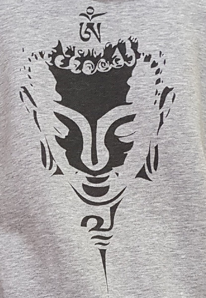 """Buddha Head"" Shadow Lady Sweat Jacket"