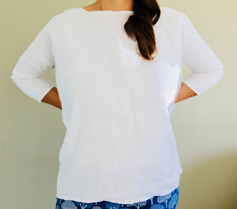 Pure Linen Women's Tops Size 6