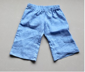 Pure Linen Boy's Pants - Vegetable dyed