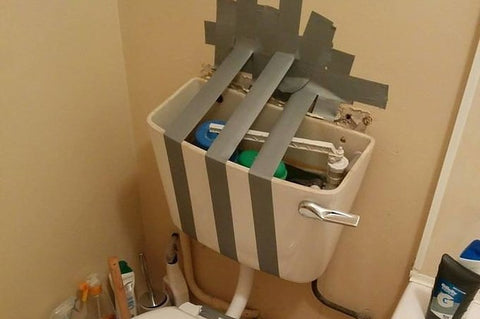 DIY Fail - Toilet