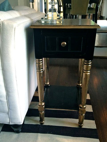 Bling - Spray Painted Side Table