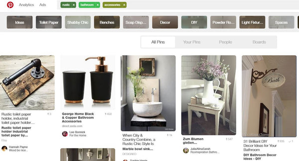 Pinterest Search For Ideas