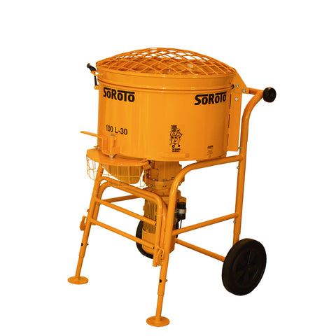 Soroto Electric Forced Action Paddle Mixers (120 Litre)