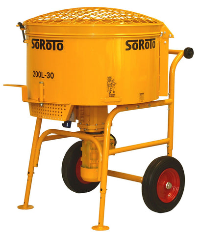 Soroto Electric Forced Action Paddle Mixers (200 – 300 Litre)