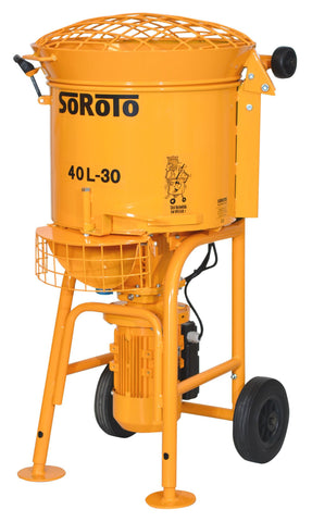 -Soroto Electric Forced Action Paddle Mixers (40 Litre)