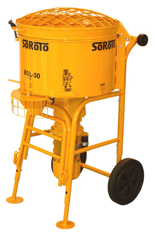 - Soroto Electric Forced Action Paddle Mixers ( 80 Litre)