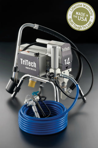 TriTech T4 Electric Airless Paint Sprayer (Lifetime Warranty Included)