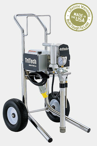 TriTech T7 Electric Airless Paint Sprayer Hi Cart (Lifetime Warranty Included)