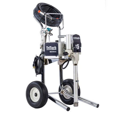 TriTech T5 Electric Airless Paint Sprayer Hi Cart - PaintSprayTools - 1