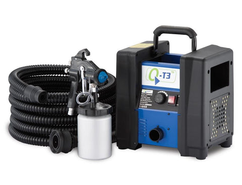 Q-Tech Q-T3 Turbine with 3M Gun & Hose - PaintSprayTools