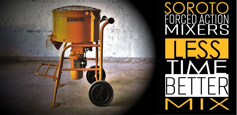 Soroto Forced Action Paddle Mixers