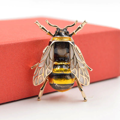 Limited-Edition Bumblebee Brooch