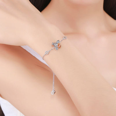 Save The Bees Sterling Silver Bracelet