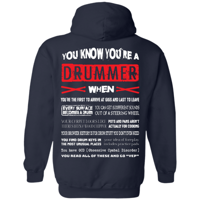 You Know You're A Drummer When