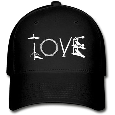 Love Drumming Baseball Cap