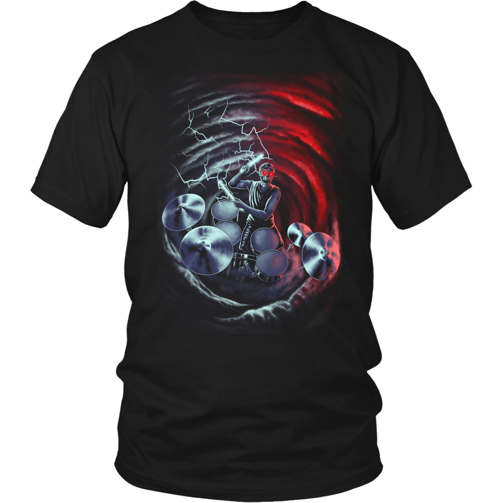"""Lord Of Thunder"" Drummer Shirt"