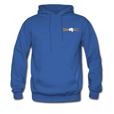 Drum Power Hoodies - royal blue