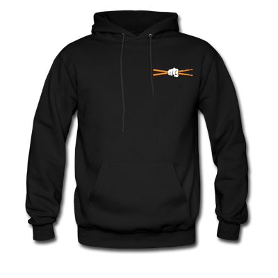 Drum Power Hoodies - black