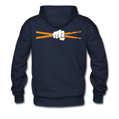Drum Power Hoodies - navy