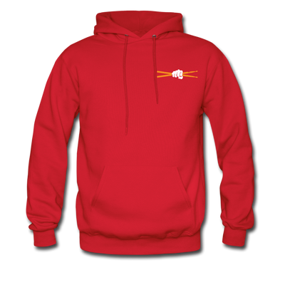 Drum Power Hoodies - red