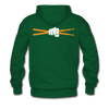 Drum Power Hoodies - forest green