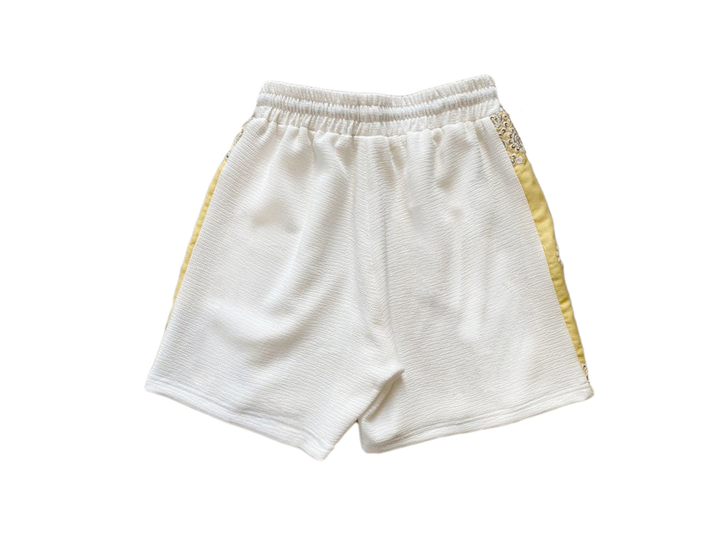Yellow Geo Shorts