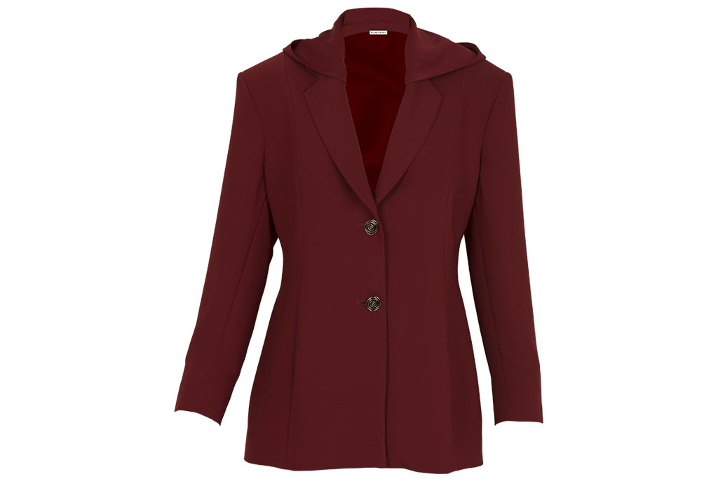 Noor Blazer with Hood