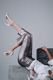 Metallic Aurora Trouser