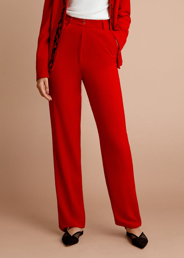 Straight-leg Lilit Trousers