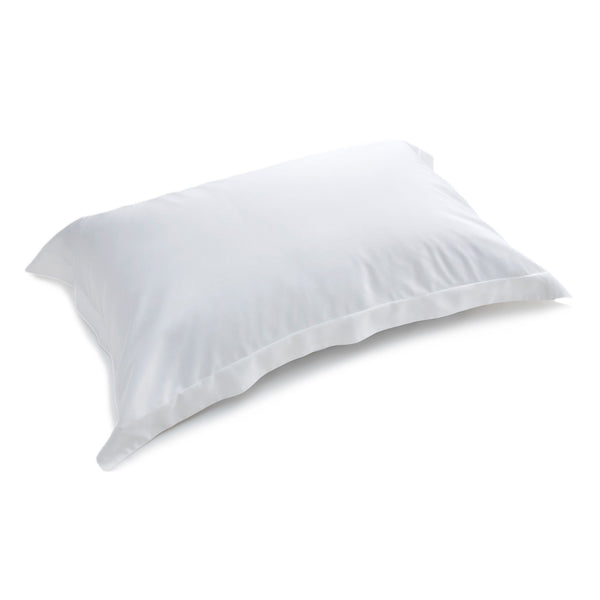 Plain White Standard Oxford Bamboo Pillowcases (Set of 2)