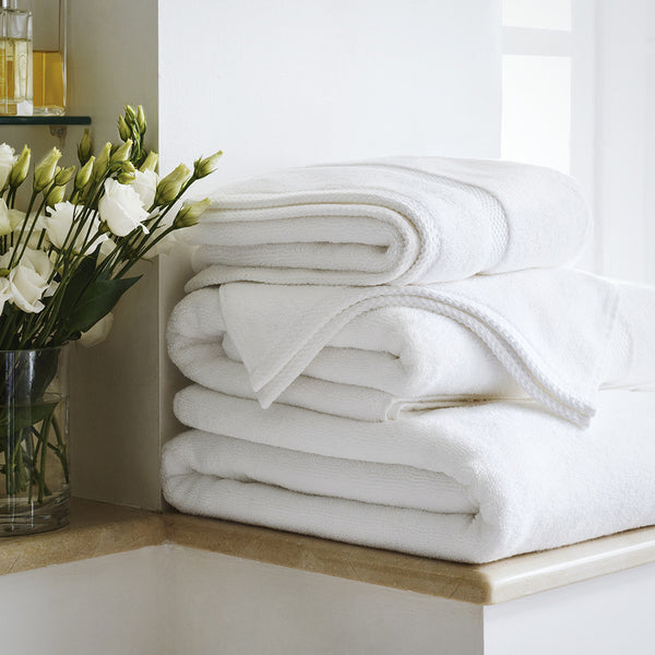 800gsm Bamboo Towels - Alpine White