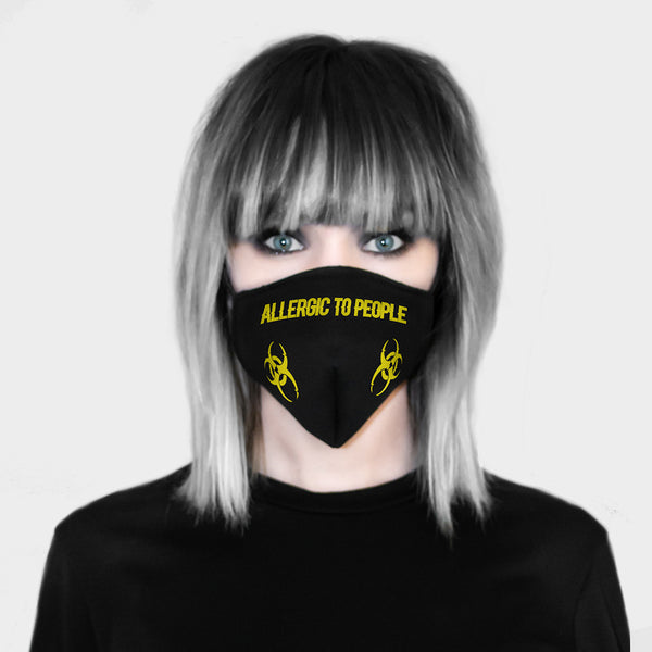 Allergic To People Mask
