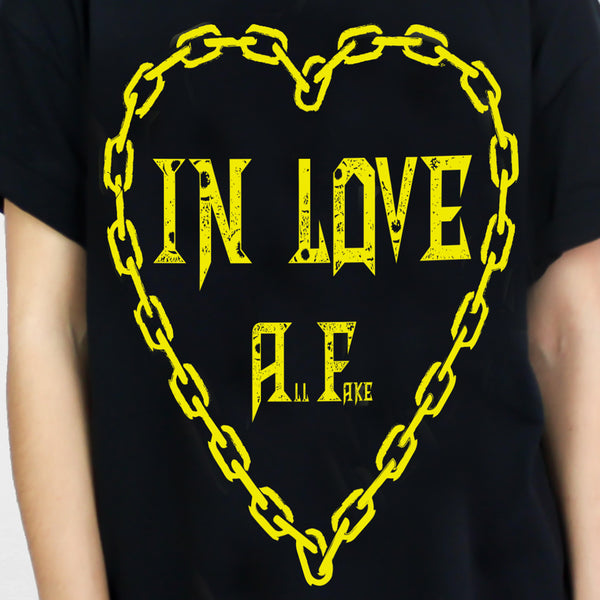 IN LOVE ALL FAKE T-SHIRT