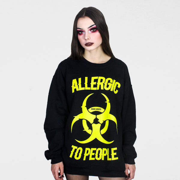Allergic To People Sweater