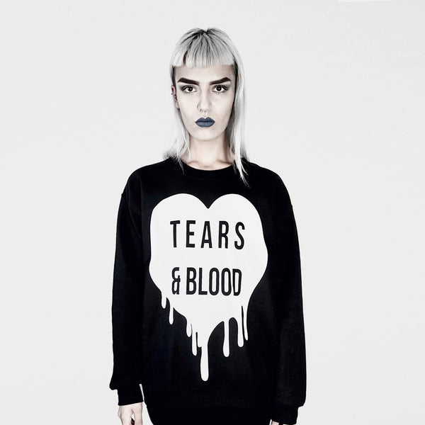 TEARS & BLOOD SWEATER
