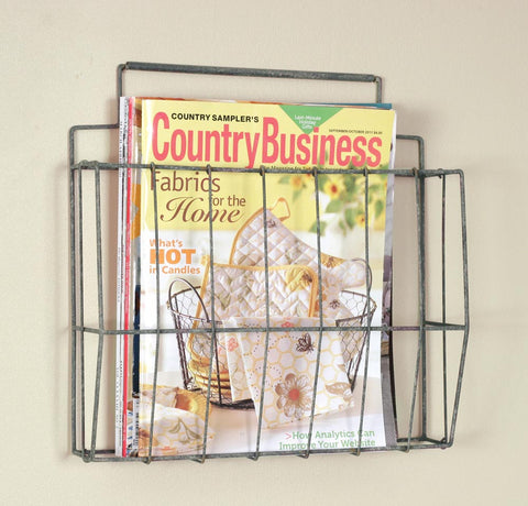 Wire File Holder - Barn Roof - McDowell Design Co.