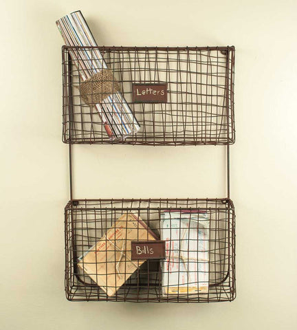 Wire Wall Pockets - McDowell Design Co.