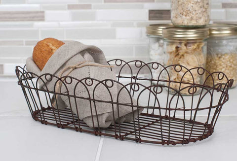 Wire Bread Basket (Pack of 2) - McDowell Design Co.