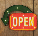 Open Marquee Wall Sign - McDowell Design Co.