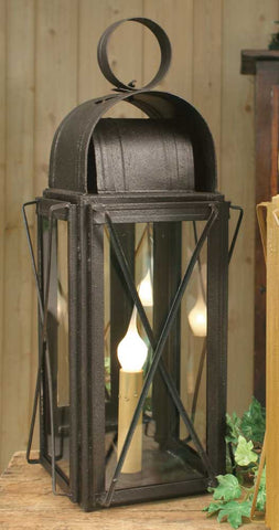 Large Milk House Lantern - Rustic Brown - McDowell Design Co.