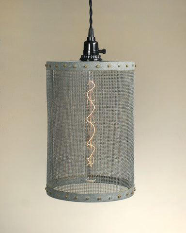 Mesh Pendant Lamp - Barn Roof - McDowell Design Co.