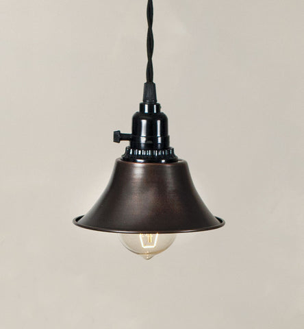 Tavern Pendant Lamp - Aged Copper - McDowell Design Co.