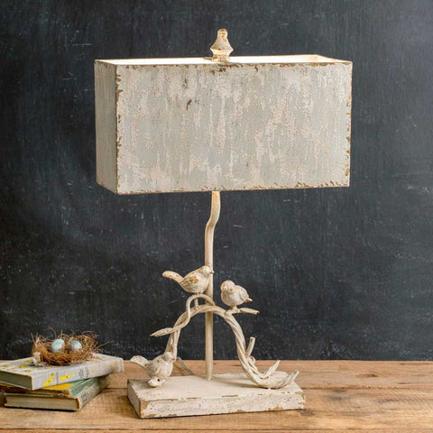 Three Birds Table Lamp