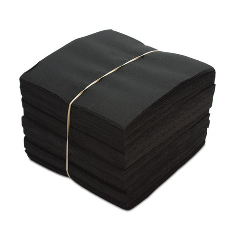 "POLY ACTION *BLACK* 6"" X 6"" (500 SHEETS) BACKING [666S888106] [7-B-4-1]"
