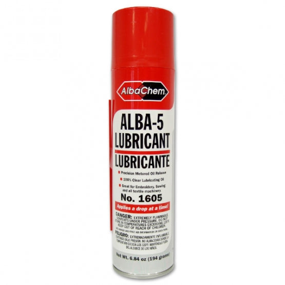 Embroidery Machine Lubricant Drop-at-a-Time with Extension Tube - 6 84 oz