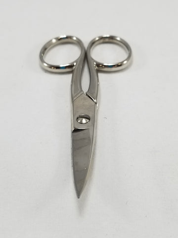 EMBROIDERY SCISSORS #573 CURVED END [573]